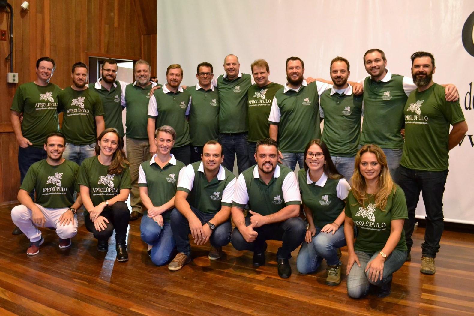 Assembleia de constituição da Aprolúpulo ocorreu sábado, 19, na Udesc Lages - Foto: Divulgação